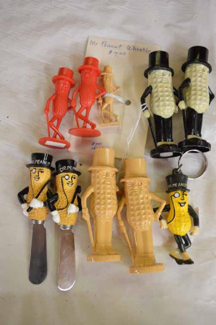 Group of Planter's Peanut Figures (3) Salt & Pepper