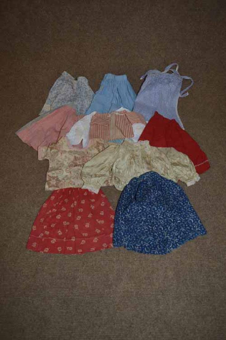 Box Lot of Doll Clothing