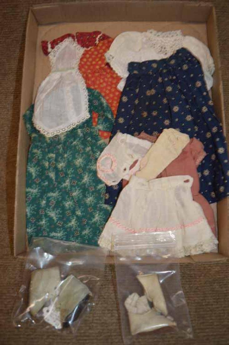 Clothing for China, Papier Mache & Sm Bisque Heads
