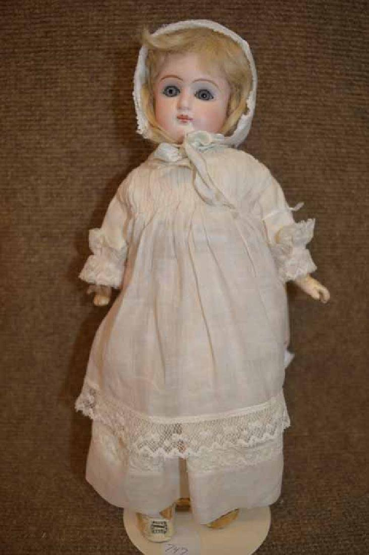 "11 3/4"" Bisque BELTON Socket Head Doll"