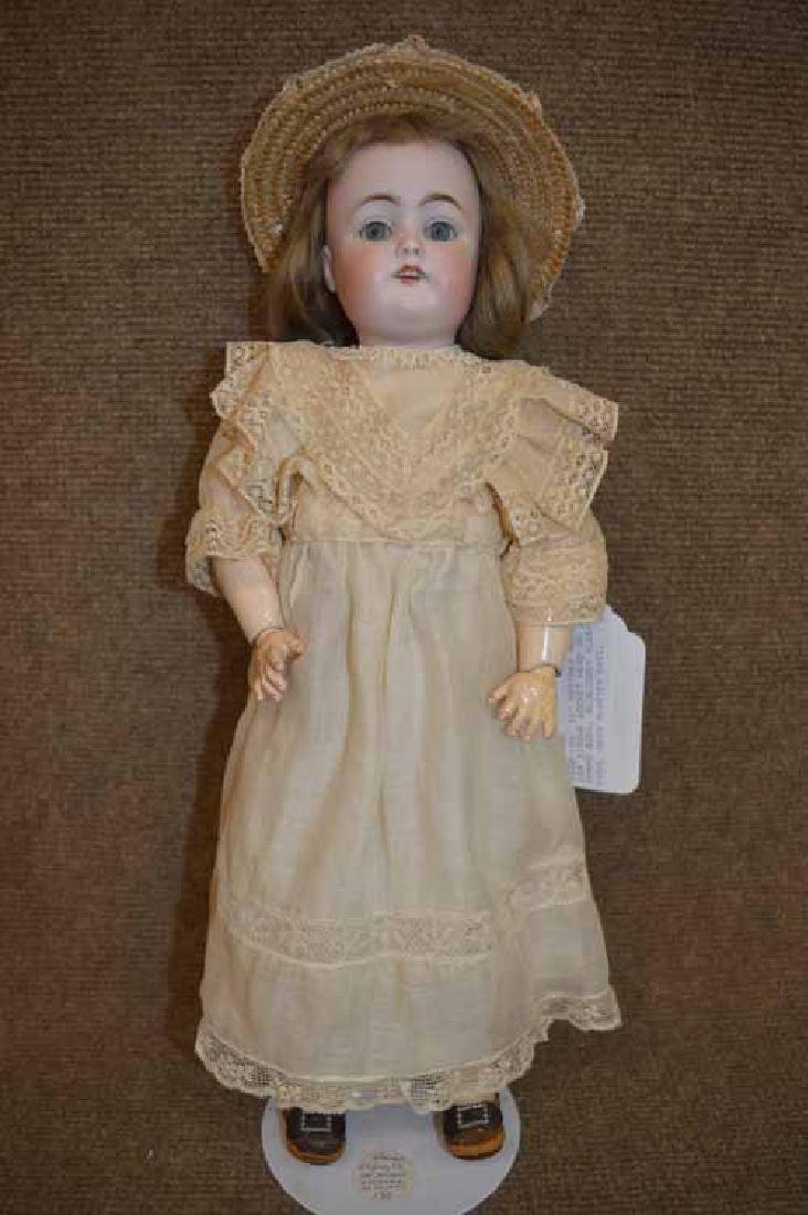 "16"" KESTNER Mold 168 Bisque Socket Head Doll"