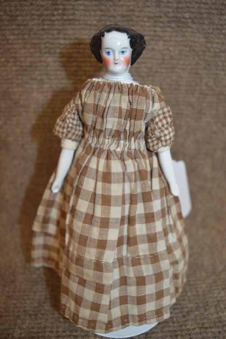"6 7/8"" China Head Flat Top Shoulder Head Doll"