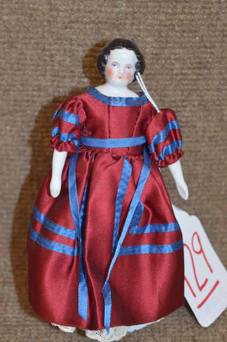 "6 1/4"" China Shoulder Head Doll"