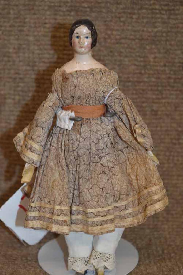 """7"""" MILLINERS Model Papier Mache Head Doll"""