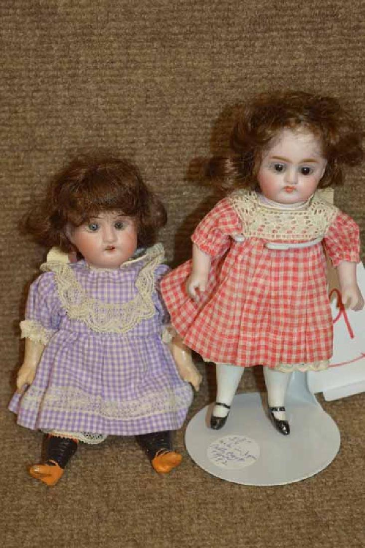 2 Petite German Dolls