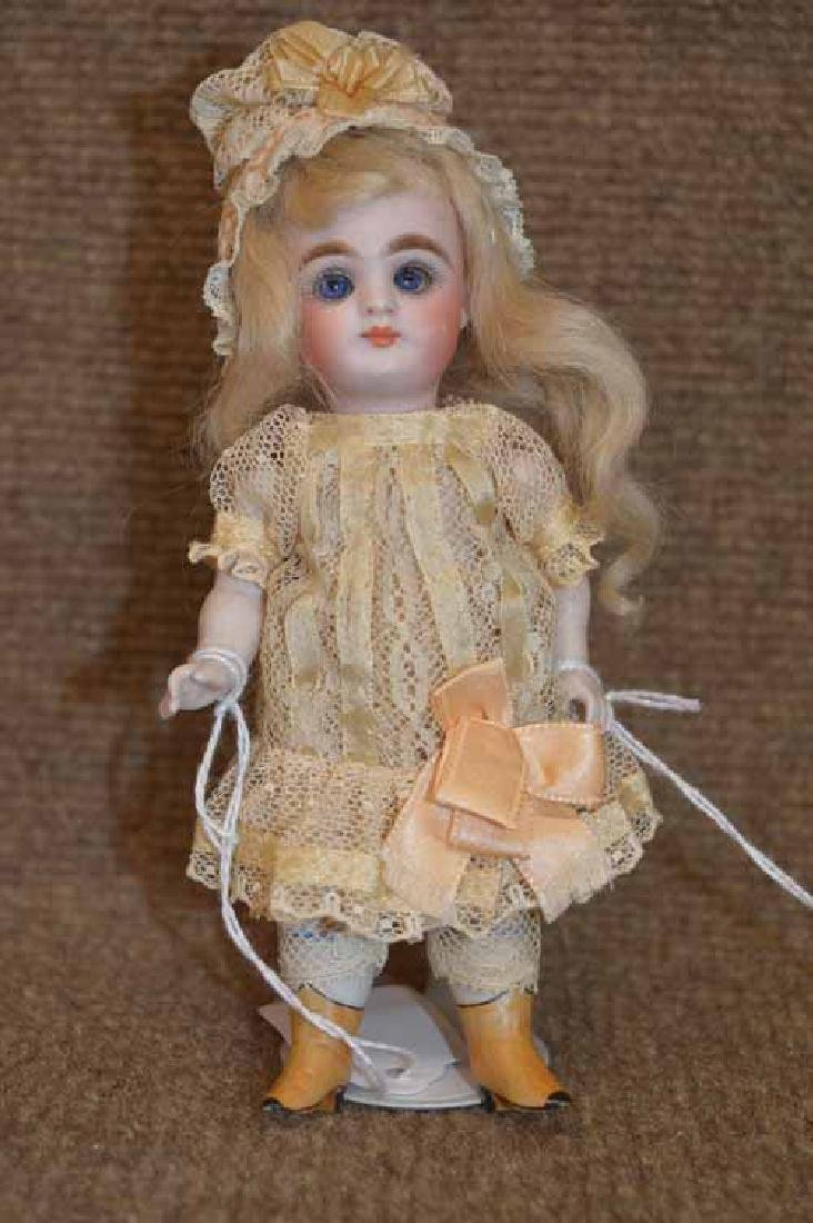 """6"""" All Bisque, Mold 203 7 Doll"""