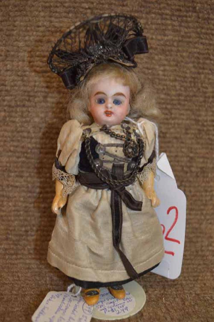 "5"" German Bisque Socket Head Doll"