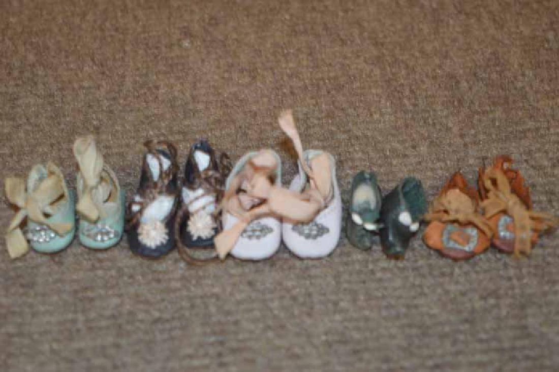 Box Lot of Tiny Shoes