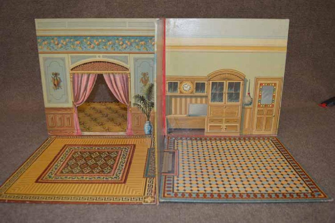 "Folding Doll House ""Book"""