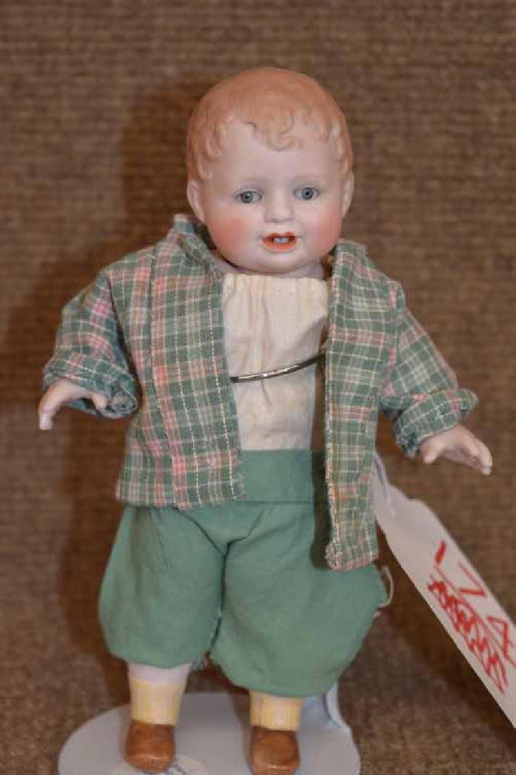 """6 1/4"""" All bisque BONNIE BABE Doll"""