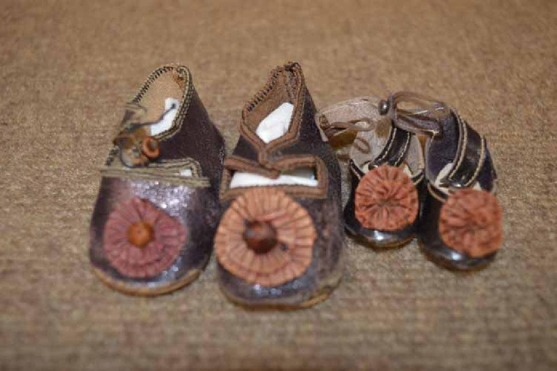 (2) Pr of Antique French Style Shoes