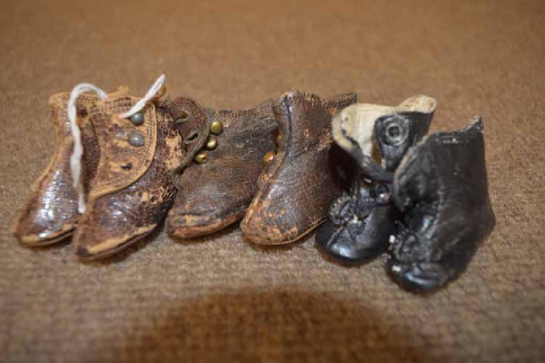 (3) pr of Antique Fashion Boots