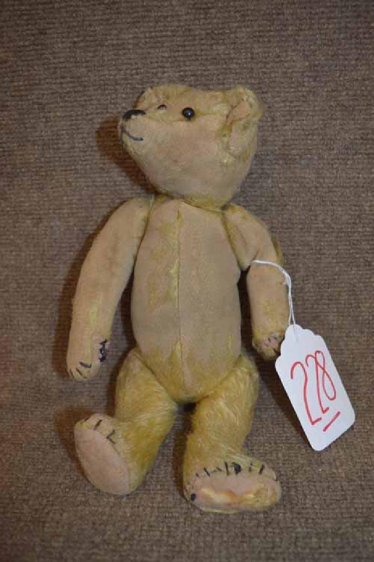 "12"" Early Well Loved JTD Gold Mohair Bear"
