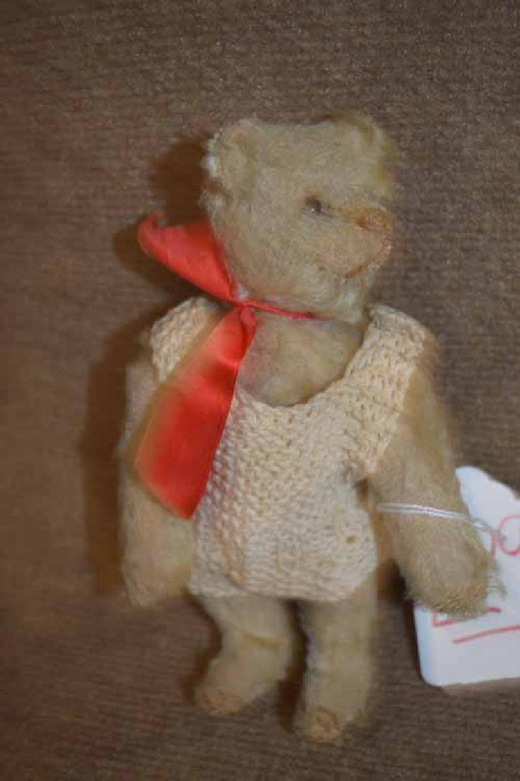 "8 1/2"" JTD Straw Stuffed Tan Mohair Bear"