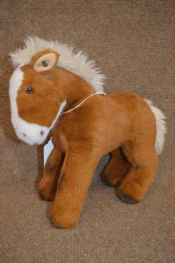 Steiff Horse w/button