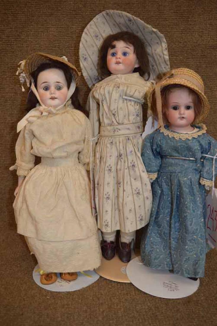 (3) German Dolls