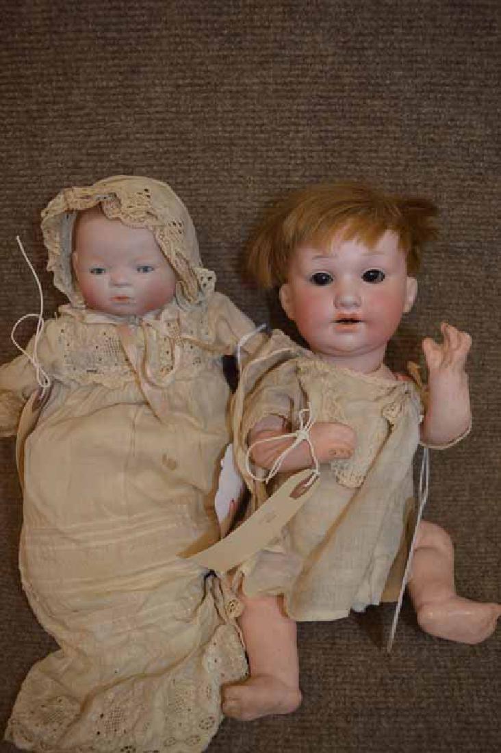 (2) Bisque Babies