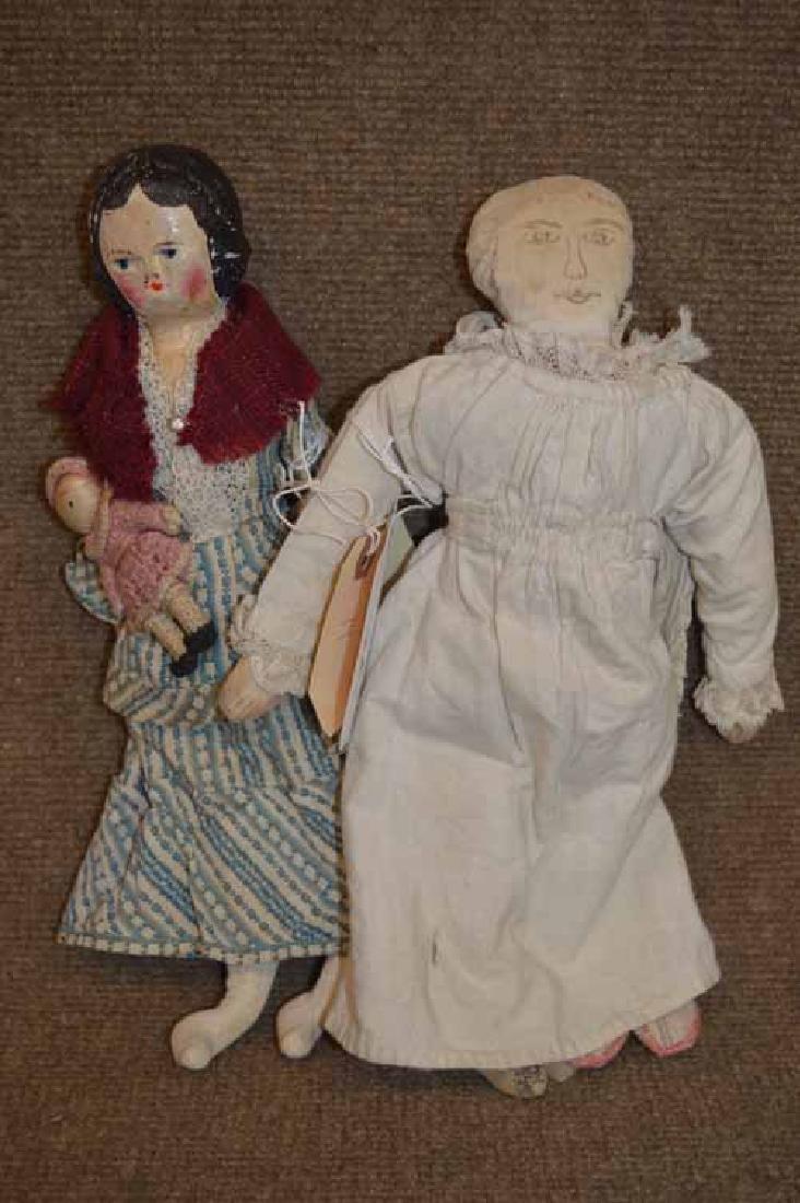 (2) Cloth Dolls