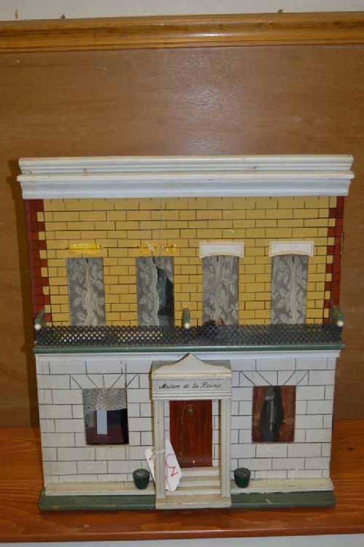 """Doll House """"Maison de La Reine"""" 2 Story Wooden"""
