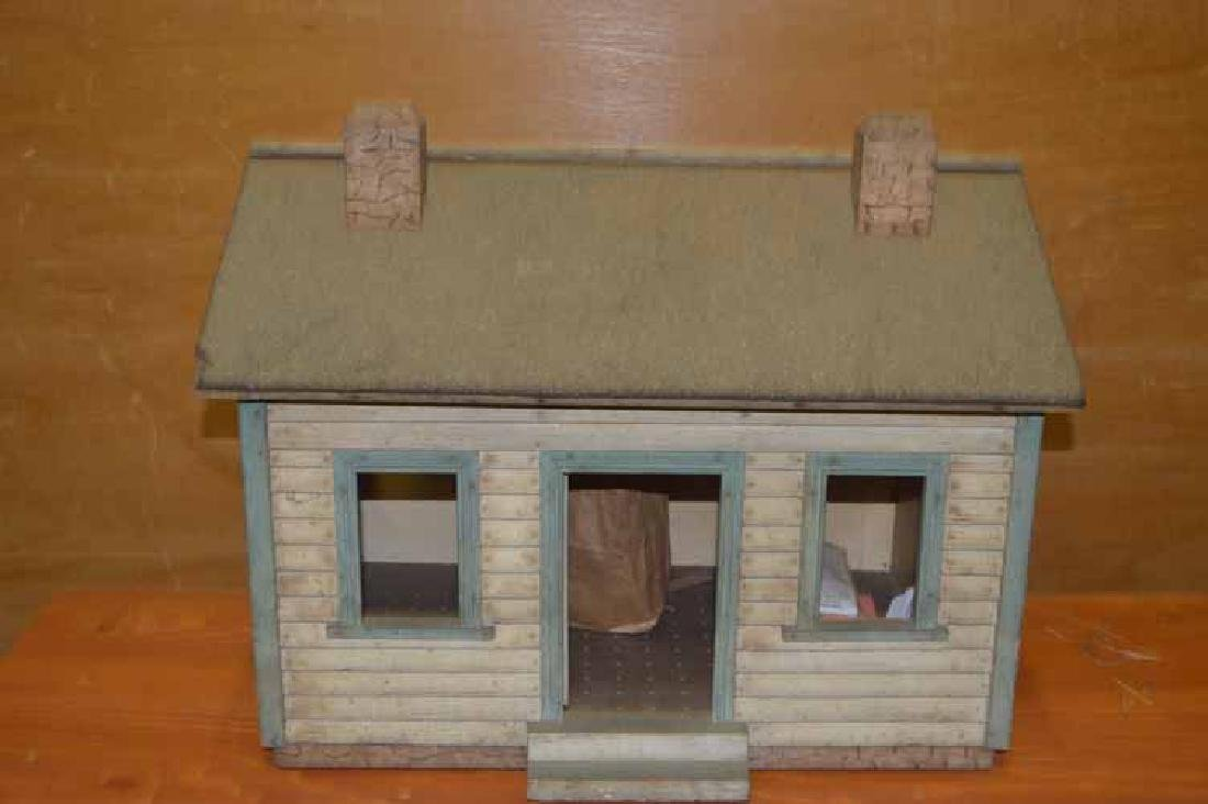 Country Style  One Room Wooden Doll House