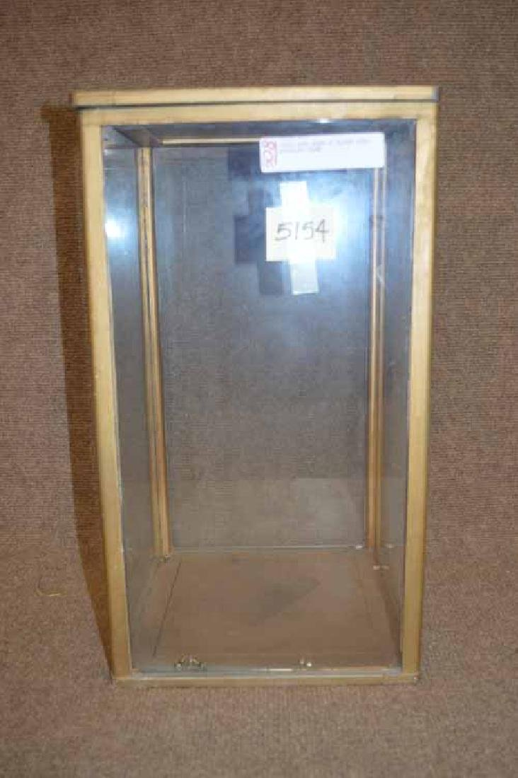 Wood & Glass Doll Display Case