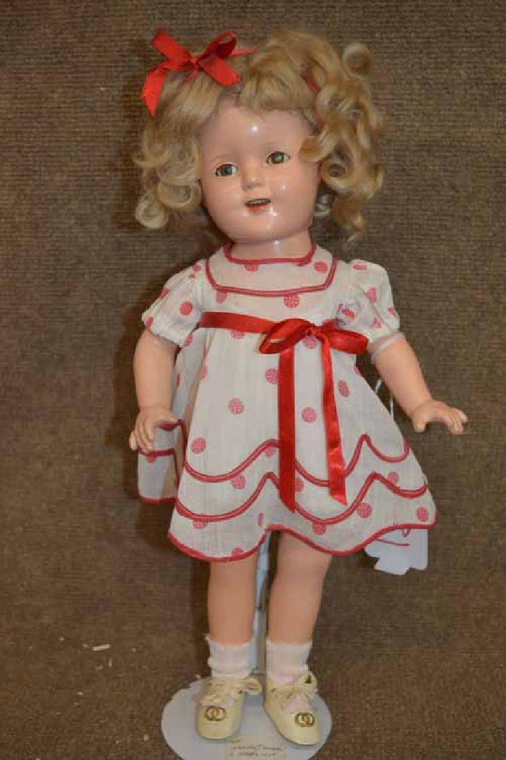 "17"" Ideal Compo Shirley Temple"