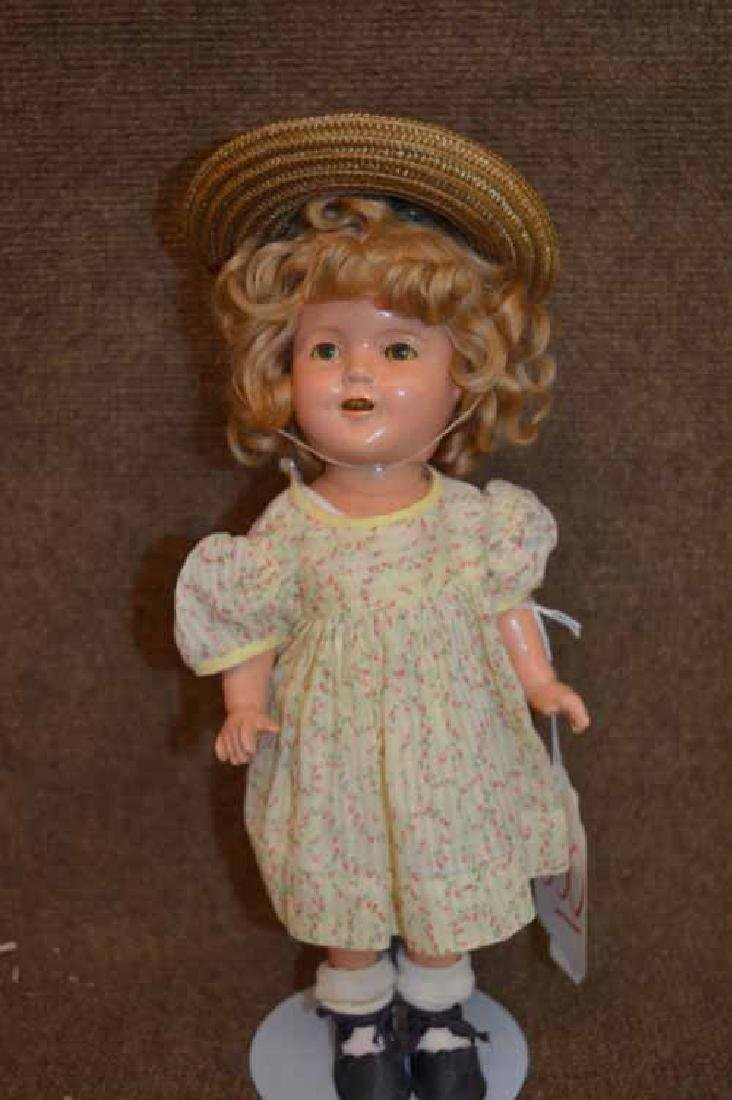 "13"" Compo Shirley Temple Doll 13"