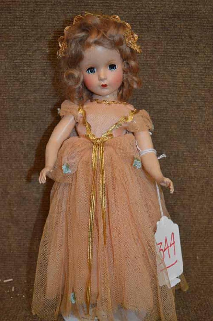 "14"" Mdme Alexander Hard Plastic Doll"