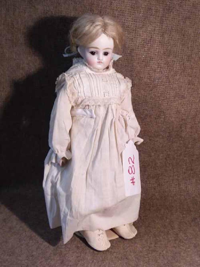 Bisque Turned Shoulderhead Doll