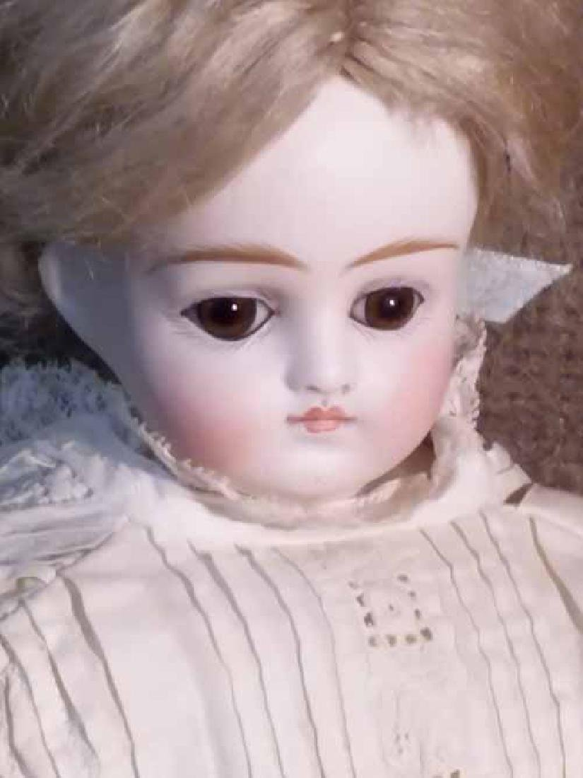 Bisque Turned Shoulderhead Doll - 2