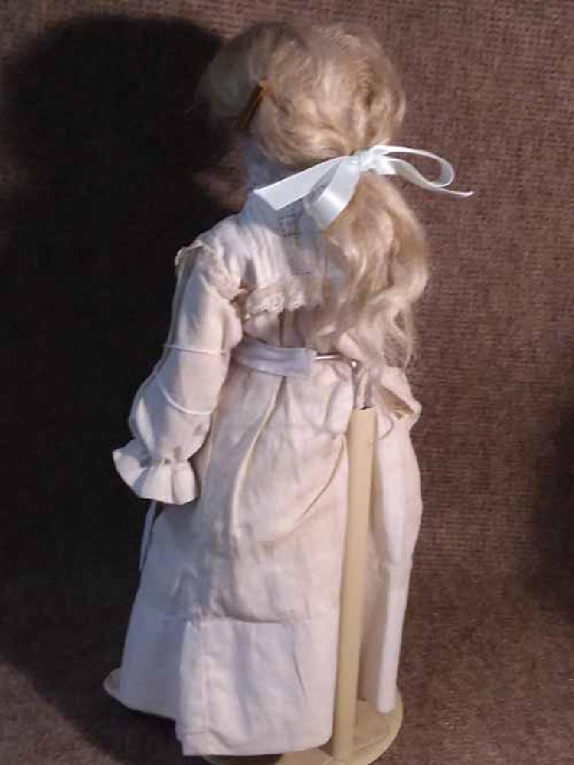Bisque Turned Shoulderhead Doll - 3