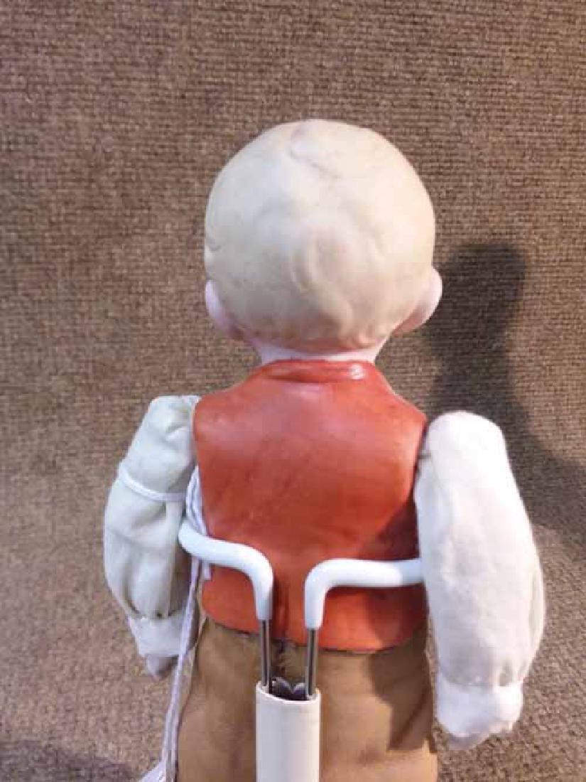 Bisque Half-Torso Doll - 3