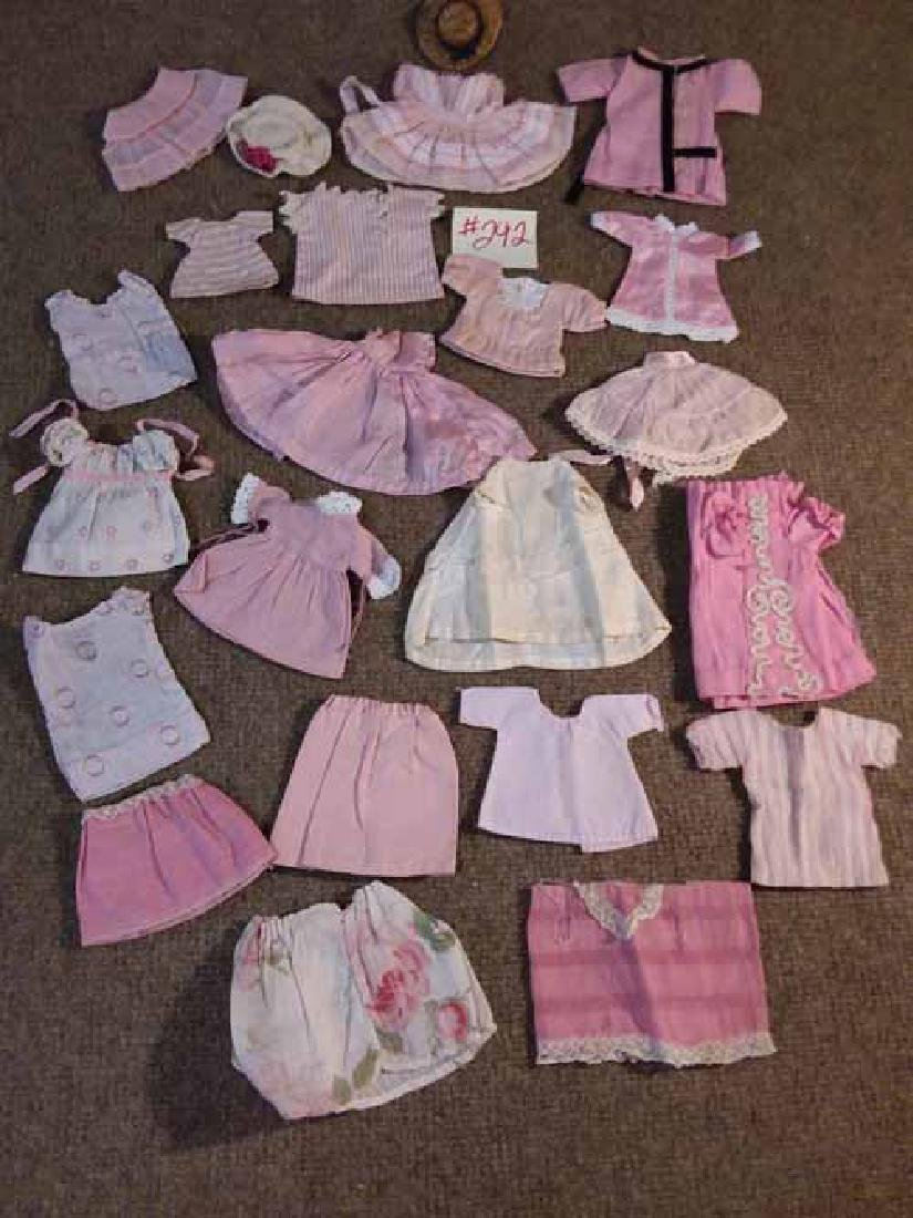 GRP OF SMALL DOLL CLOTHING