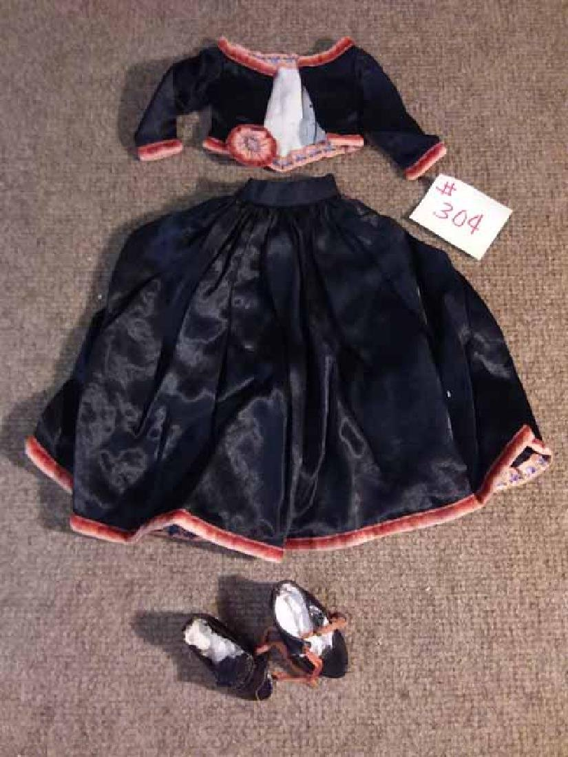 """DOLL OUTFIT TO FIT APPROX 12-13"""" DOLL"""