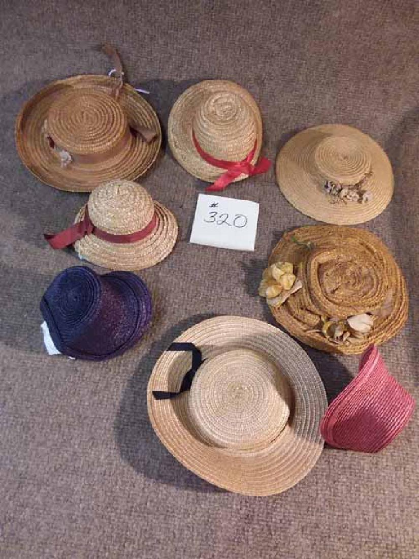 8 ANTIQUE & VINTAGE HATS