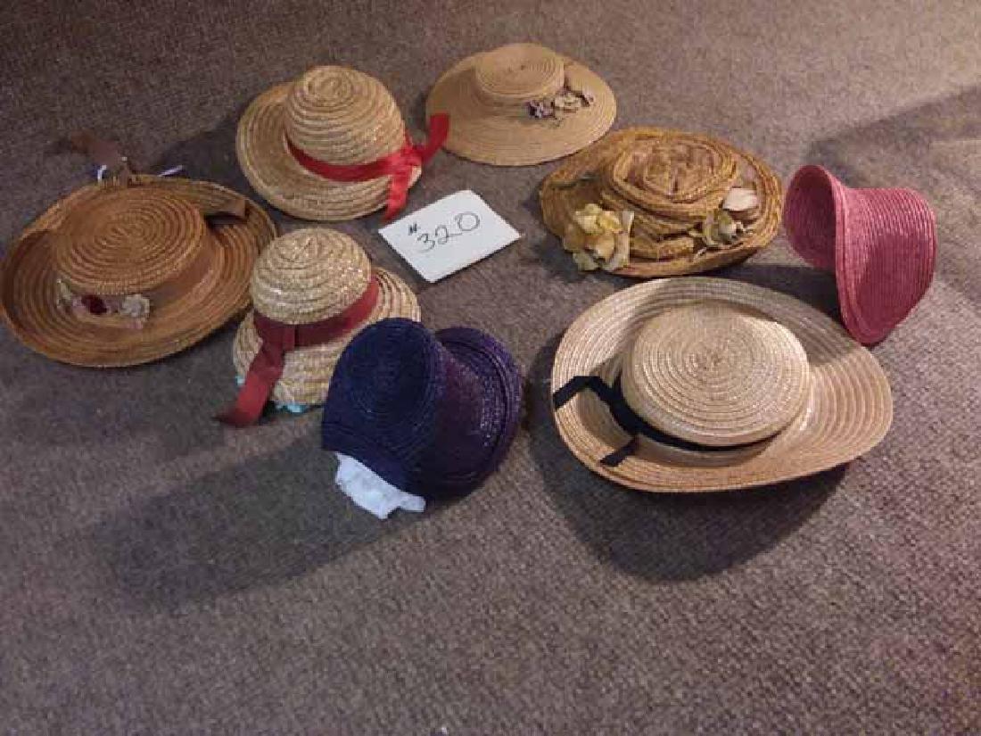 8 ANTIQUE & VINTAGE HATS - 2