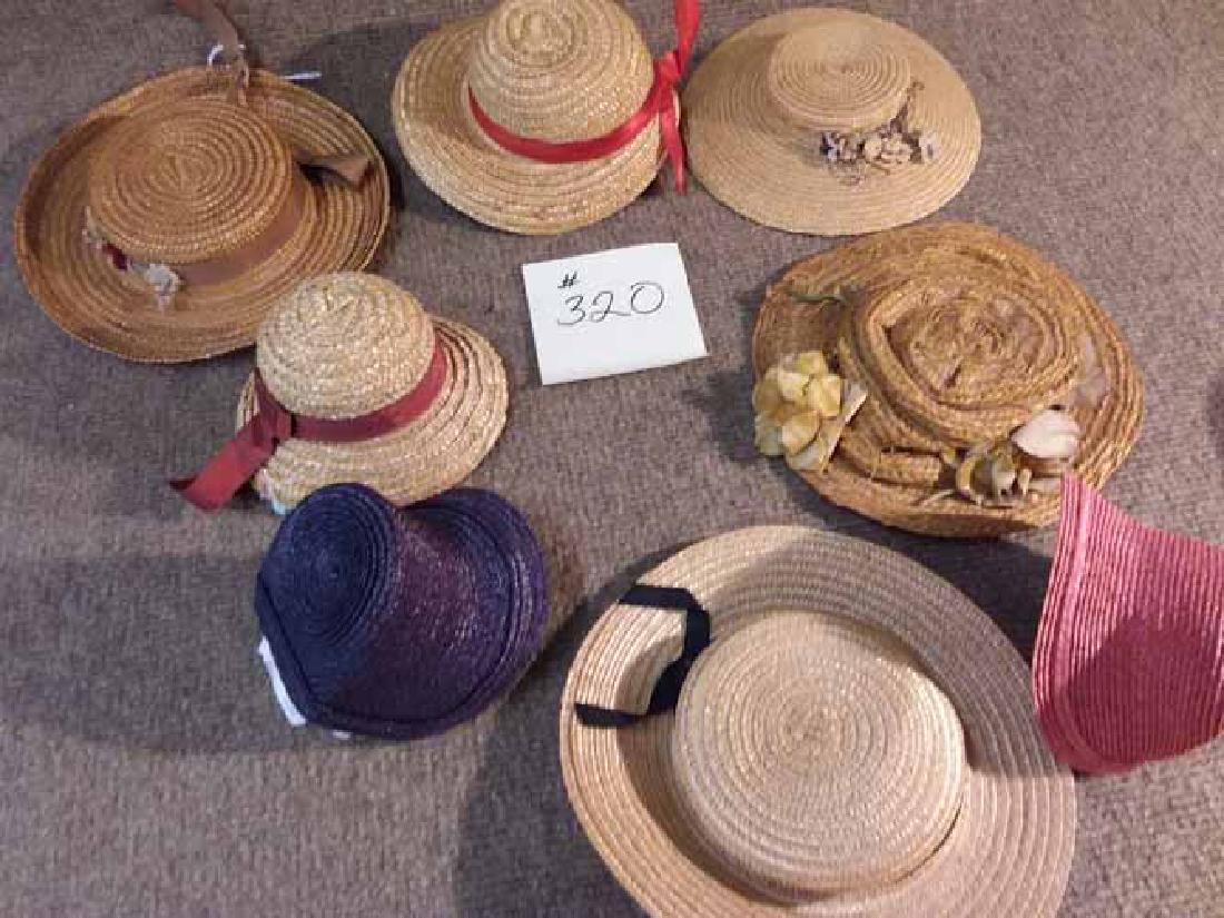 8 ANTIQUE & VINTAGE HATS - 3