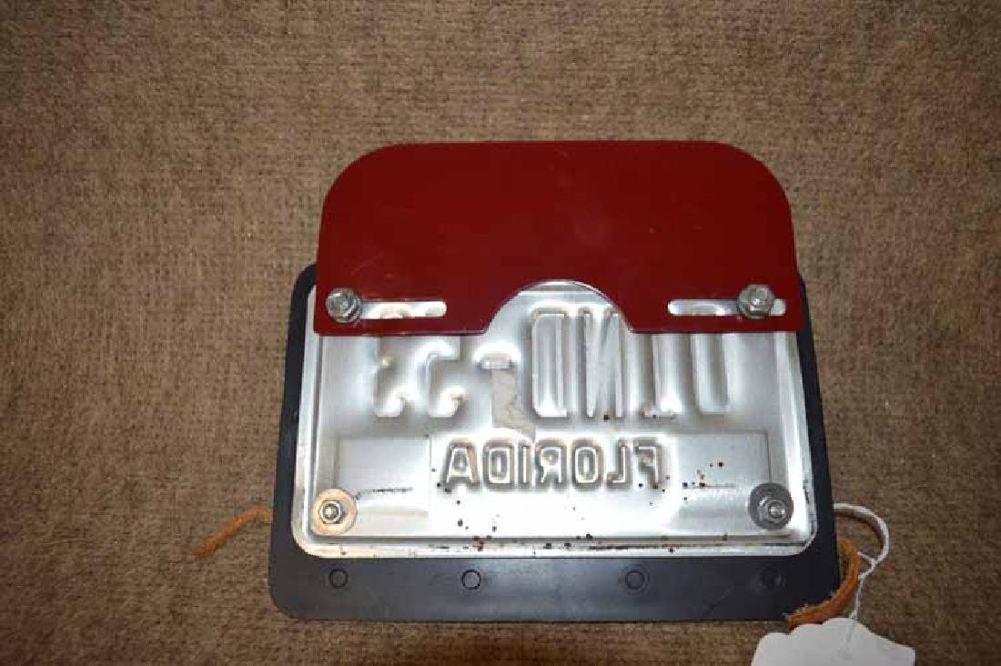 INDIAN MOTORCYCLE LICENSE PLATE SURROUND - 2