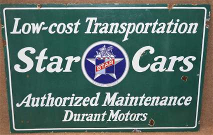 STAR CARS SIGN