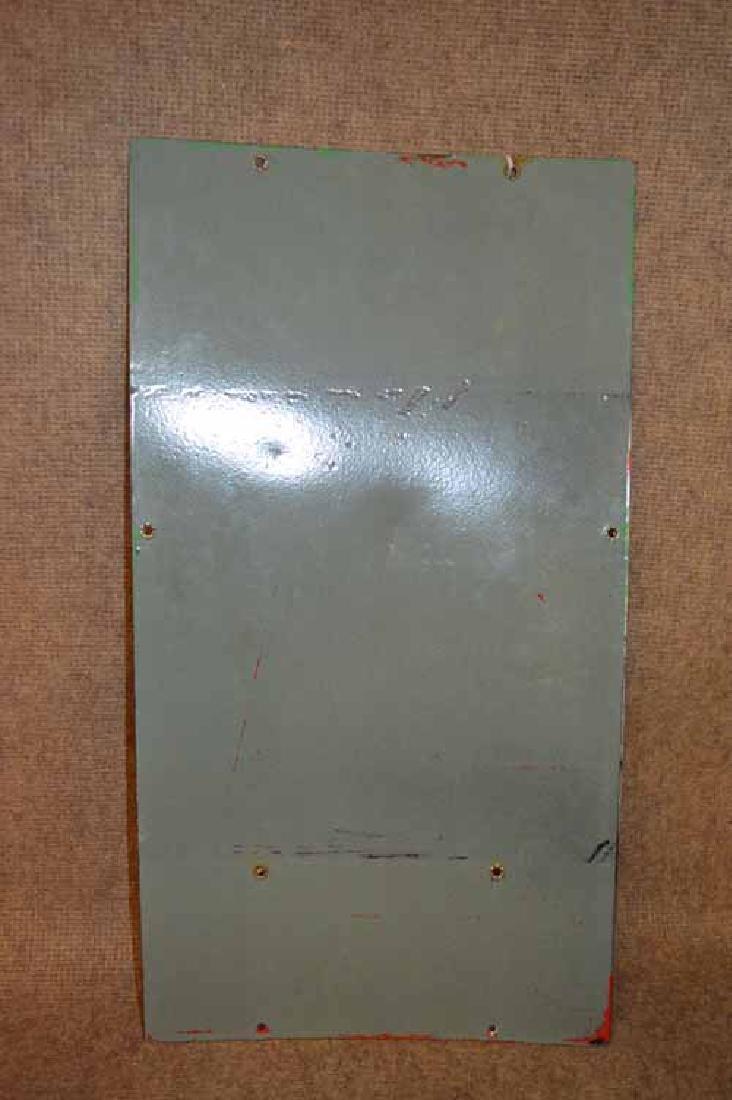 TEXACO PUMP PLATE SIGN - 2