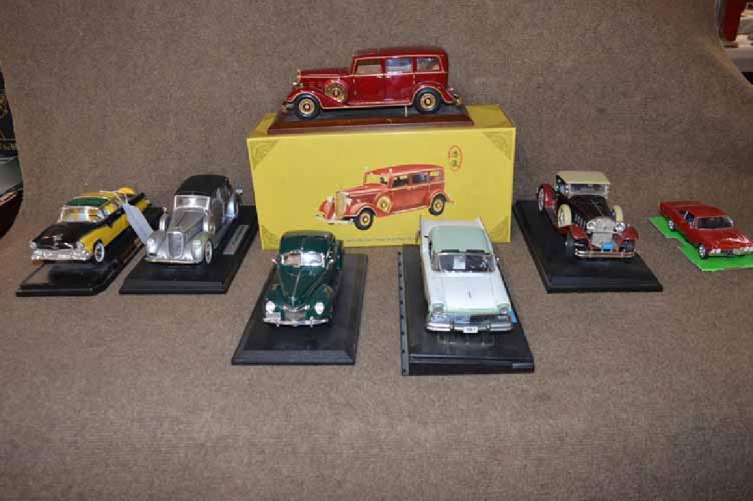 (7) DIE CAST CARS