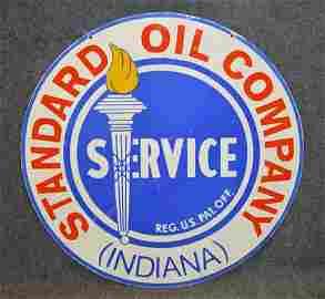 STANDARD OIL CO. PORC SIGN