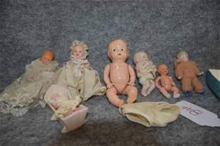 (7) SMALL BABY DOLLS