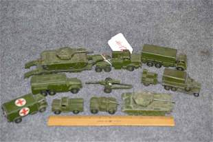DINKY TOY MILITARY TOYS