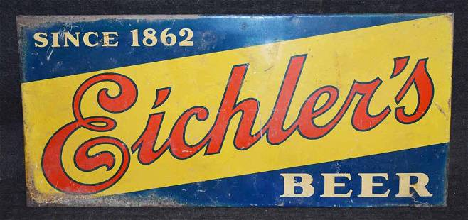 EICHLER BEER SIGN