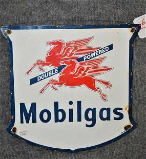 MOBIL GAS PUMP PLATE