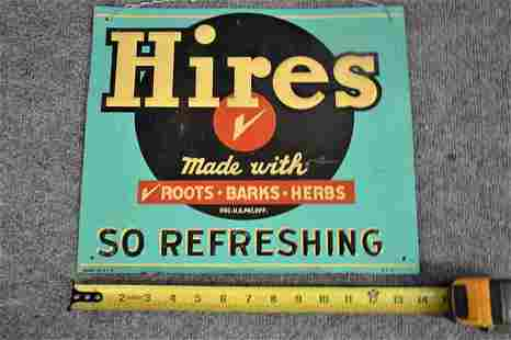 HIRE'S ROOT BEER SIGN