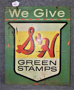 S & H GREEN STAMPS DOUBLE