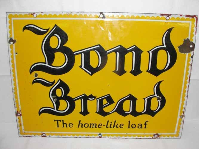 1: Bond Bread Sign