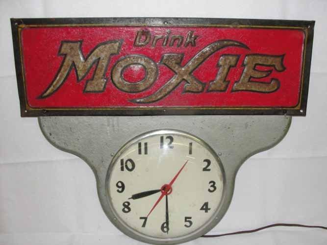 4: Tin Moxie Advertising Clock